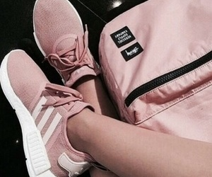 adidas, backpack, and rosy image
