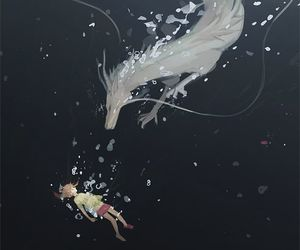 anime, spirited away, and art image