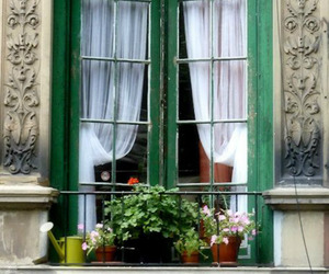 window, france, and vintage image