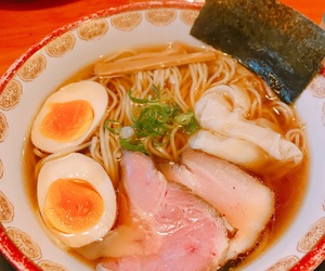 food, japan, and noodle image