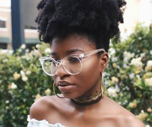 beauty, brown skin, and choker image