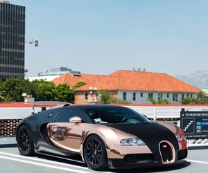 bugatti, cars, and gold image