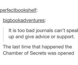 books, chamber of secrets, and diary image