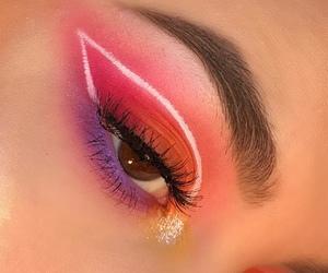 makeup, eyeshadow, and aesthetic image