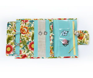 etsy, jewelry bag, and floral image