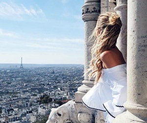 girl, travel, and paris image