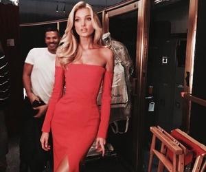 model, elsa hosk, and dress image