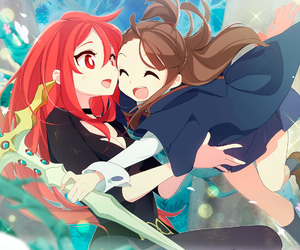 anime, girl, and little witch academia image