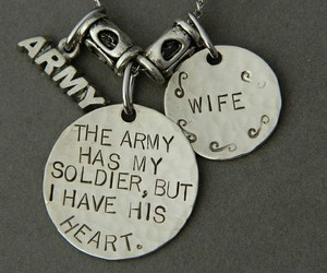 army, heart, and soldier image