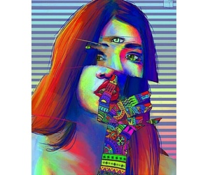art, lsd, and psychedelic image