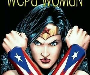 puerto rico, wonder woman, and strong image