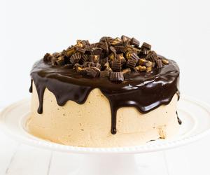 cakes, chocolate, and chocolate cake image