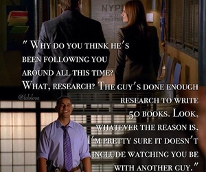 beckett, castle, and love image