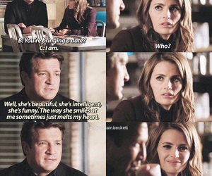 Alexis, beckett, and castle image