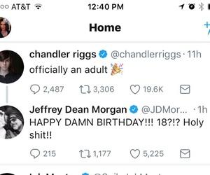 jeffrey dean morgan, negan, and the walking dead image