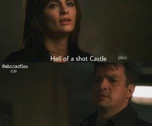 beckett, castle, and gun image