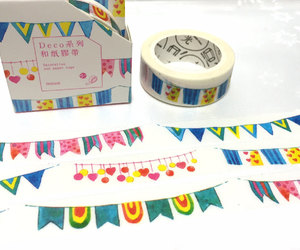 mt tape, party banner, and colorful banner image