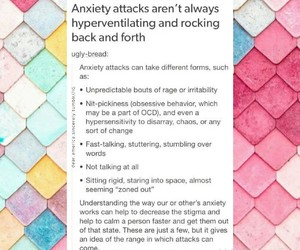anxiety, awareness, and psychiatry image