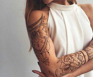 beautiful, Tattoos, and beauty image