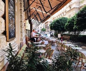 budapest, cafe, and city image