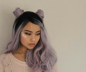 asian girl, hairstyle, and tumblr image