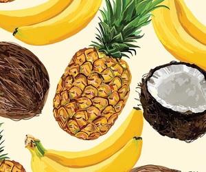 wallpaper, fruit, and banana image