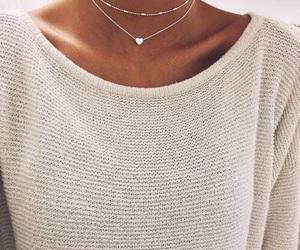 girl, stylish, and sweater image