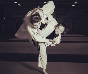 judo and photographie image