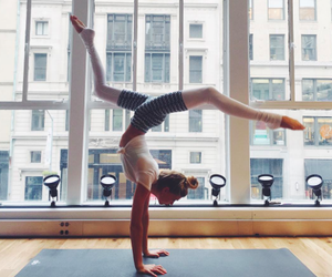 fit, girl power, and handstand image