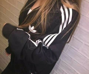 adidas, blonde, and girl image