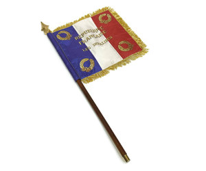 french flag, bastille day, and vintage french image
