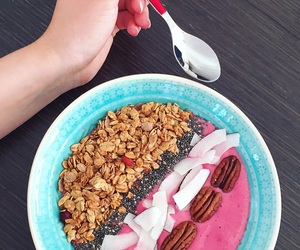 bowl, breakfast, and coco image