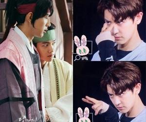 exo, exo-k, and chanbaek image