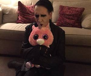 Marilyn Manson, unicorn, and manson image