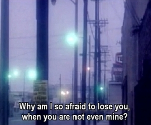 quotes, afraid, and sad image