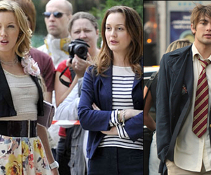 blair, leighton meester, and Chace Crawford image