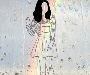 tumblr, wallpaper, and rainbow image