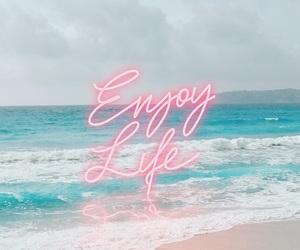 aesthetic, beach, and motivation image