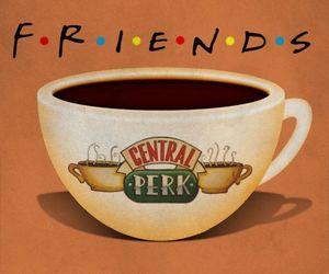 coffe, Courteney Cox, and Lisa Kudrow image