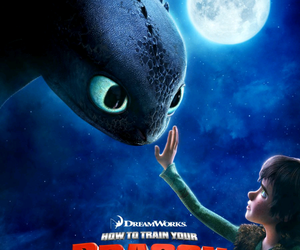 first, how to train your dragon, and movie image