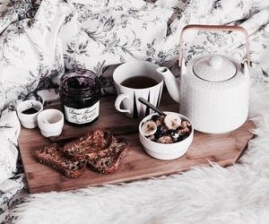 breakfast, coffee, and french toast image