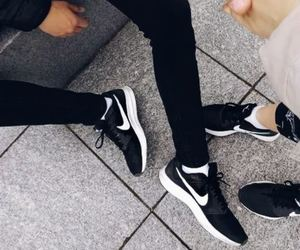 couple, fashion, and Just Do It image