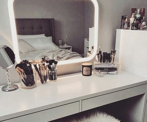 makeup, home, and decor image