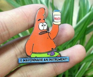 collectible, pins, and spongebob image