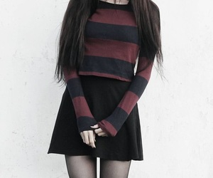 aesthetic, clothes, and emo image
