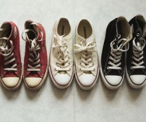 shoes, converse, and photography image