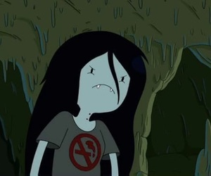 icon, marcy, and adventure time image