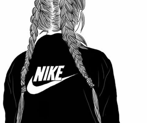 nike and outline image