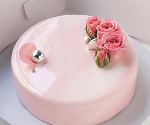 pink, cake, and dessert image