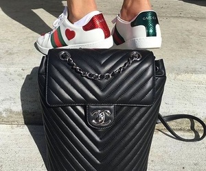 chanel, gucci, and shoes image